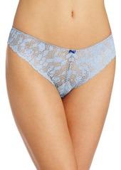 Isaac Mizrahi Womens Lace tanga Panty