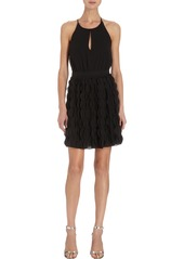 Diane von Furstenberg Scalloped Skirt Dress