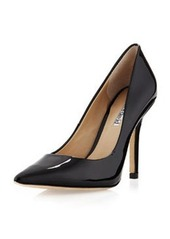 Charles David Sway II Pointy Patent Pump, Black