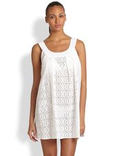 Shoshanna Wilson Eyelet Beach Dress