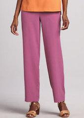 Go Silk Silk Ankle Pants