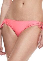Ella Moss Swim Tie-Side Swim Bottom, Bright Pink
