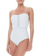 Ooh La La Eyelet Seductress One-Piece Swimsuit   Ooh La La Eyelet Seductress One-Piece Swimsuit