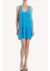 Joie Pleated Scoop Neck Tank Dress