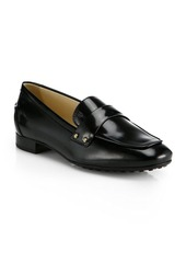 Tod's Clean Front Leather Loafers