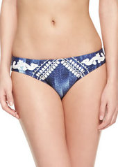 Nanette Lepore Deja Blue-Charmer Swim Bottom