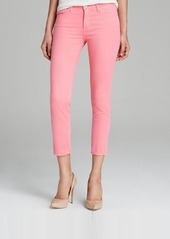 AG Adriano Goldschmied Jeans - Exclusive Prima Crop in Pink