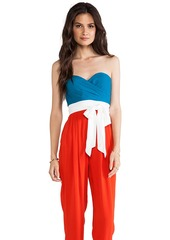 Catherine Malandrino Jumpsuit in Red
