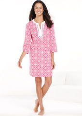 Charter Club Knit Short Caftan