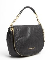 MICHAEL Michael Kors black leather 'Stanthorpe' medium convertible bag