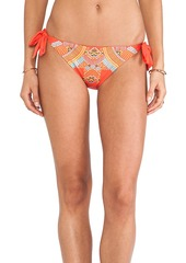 Nanette Lepore Mayan Riviera Vamp Bikini Bottoms in Red