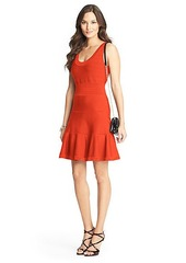Perry Knit Flared Dress