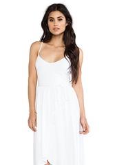 "Susana Monaco Light Supplex Taylor 22-34"" Dress in White"