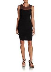 Calvin Klein Illusion Body-Con Dress