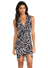 T-Bags LosAngeles Tank Knot Dress in Black