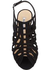 Manolo Blahnik Dance2 Caged Slingback Sandals