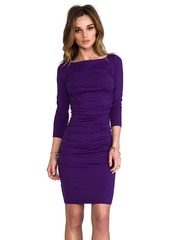 "Susana Monaco Light Supplex Genevieve 20"" Dress in Purple"