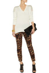 MICHAEL Michael Kors Studded fine-knit sweater