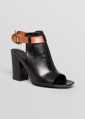 Delman Open Toe Sandals - Aggie High Heel
