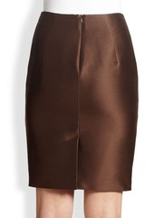 Max Mara Bastia Mikado Pencil Skirt
