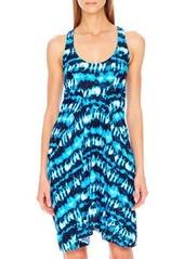MICHAEL Michael Kors Torino Tie-Dye Coverup Dress