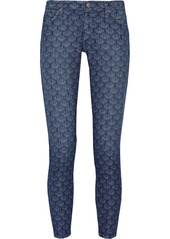 AG Jeans The Legging Ankle paisley-print jeans