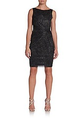 Calvin Klein Shimmery Sheath Dress