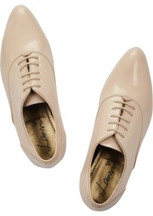 Lanvin Glossed-leather brogues