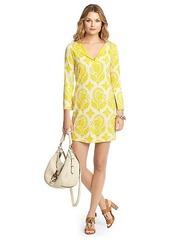 New Reina Two Silk Jersey Tunic Dress