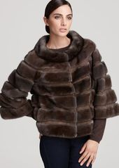 "Carmen Marc Valvo Couture for Maximilian 20"" Mink Fur Jacket"