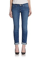 Hudson Straight Flood-Cuff Jeans