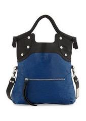 Foley + Corinna Lady Combo Convertible Bag, Black/Azure