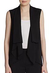 Tahari Eleanor Chiffon Vest