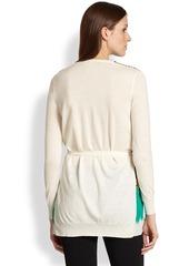 Etro Wool & Silk Cardigan