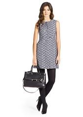 Yvette Tweed A-Line Mini Dress