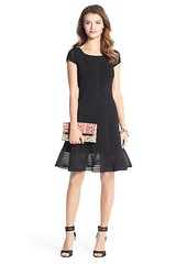 St. Petersburg Fit and Flare Knit Dress