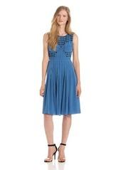 Tracy Reese Women's Combo Frock Dress