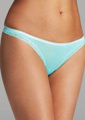 Calvin Klein Underwear Thong - Bottoms Up #D3445