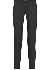 AG Jeans The Legging Ankle Zip mid-rise skinny jeans
