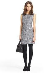 Carpreena Tweed A-line Mini Dress