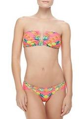 Mara Hoffman V-Neck Bandeau Bikini Top