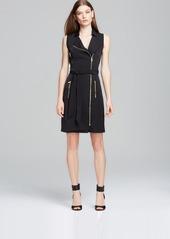 Calvin Klein Moto Zip Dress