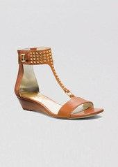 MICHAEL Michael Kors Open Toe Demiwedge Sandals - Celena Studded