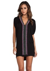 Nanette Lepore Grand Bazaar Batwing Tunic in Black
