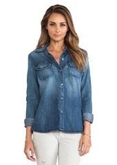 AG Adriano Goldschmied Dakota Shirt in Blue