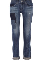 AG Jeans Piper mid-rise slim-leg jeans