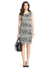 Selene Ruched Silk Jersey Dress