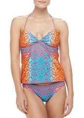 Nanette Lepore Honey Printed Tankini Top