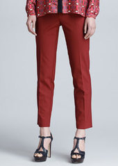 Etro Cropped Gabardine Pants