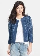 Citizens of Humanity 'Thalia' Stitch Detail Chambray Jacket